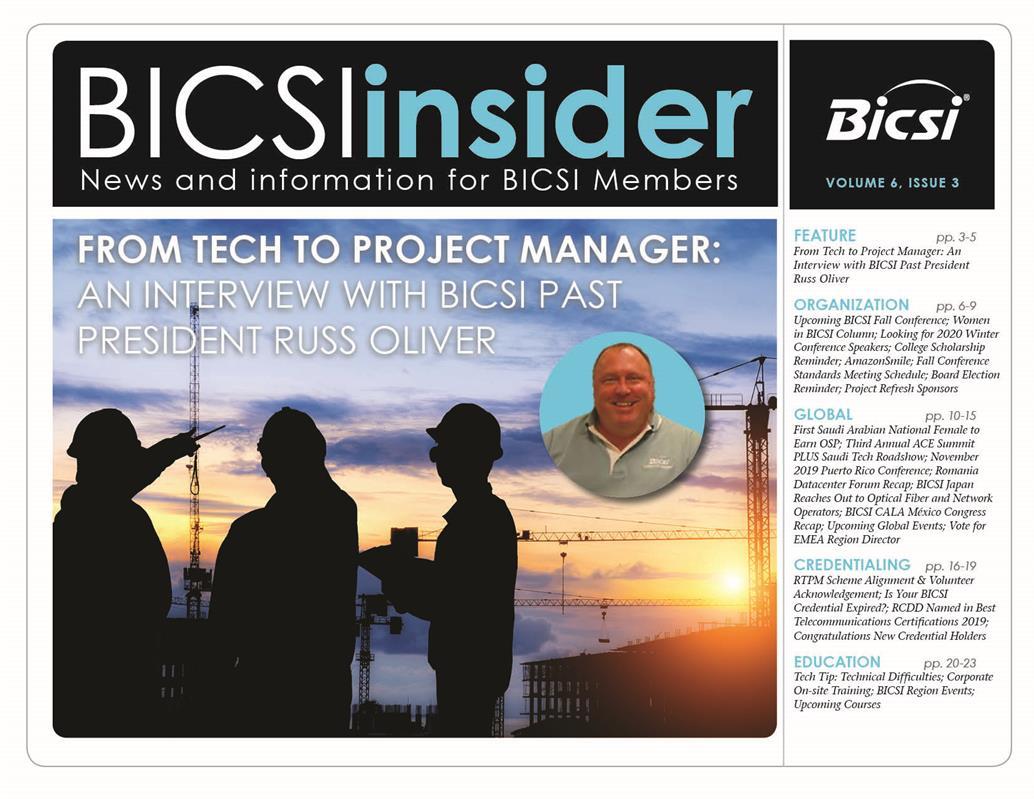 BICSI Insider - BICSI Member Access   BICSI