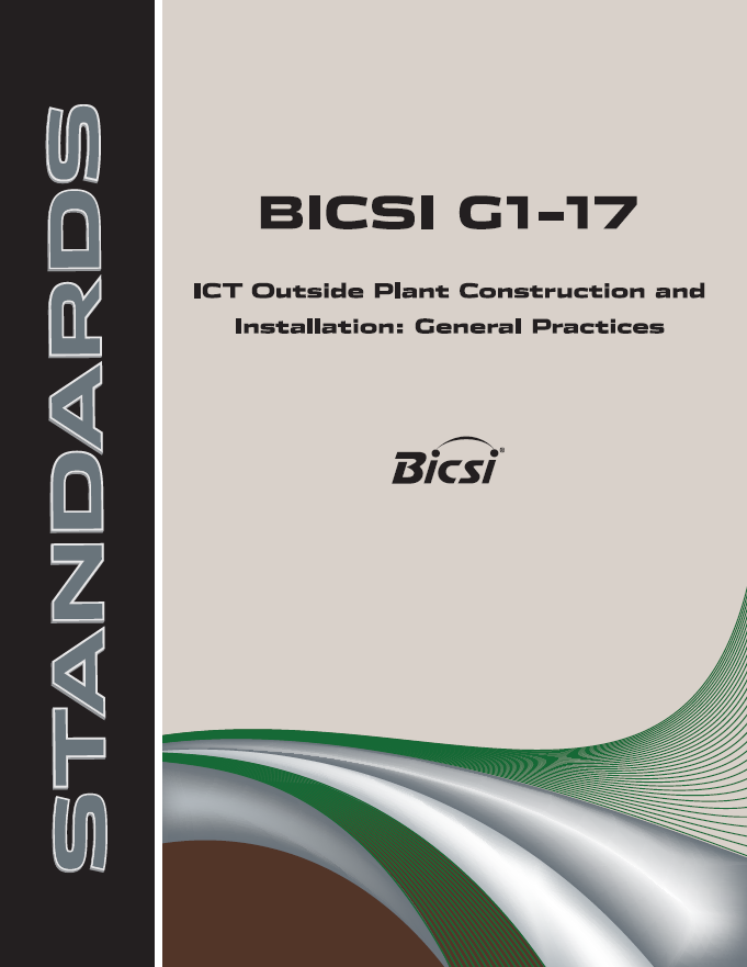 BICSI Standards G1-17